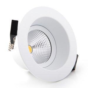 THE LIGHT GROUP SLC One Soft zapustené LED svietidlo biele 2700K