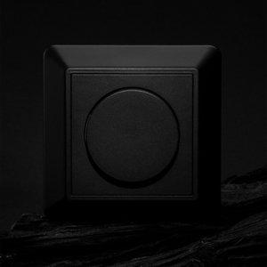 THE LIGHT GROUP SLC kryt pre SmartOne AC nástenný stmievač, čierny