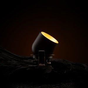 THE LIGHT GROUP SLC Cup LED downlight čierne/zlaté 3000K