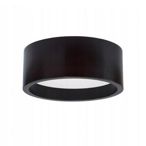 TEMAR LIGHTING Stropné LED svietidlo Deep, Ø 28cm, čierne