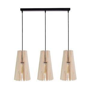 TEMAR LIGHTING Závesná lampa Cone, troj-plameňová