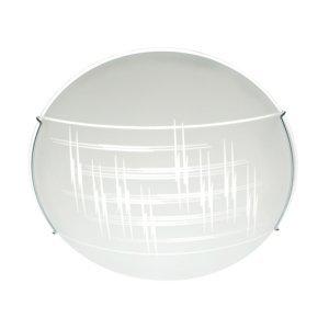 TEMAR LIGHTING Stropné svietidlo Scratch zo skla, Ø 40cm