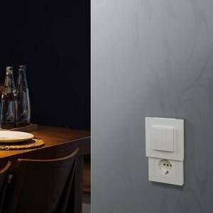 DIE VERSTECKDOSE® Hidden Socket, zásuvkový nadstavec s vypínačom