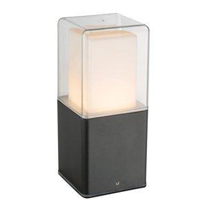 Heitronic Soklové LED svietidlo Dalia s plastovým difuzérom