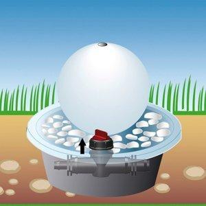 Heitronic Uzavierací ventil pre Aquafall 37131 zapustený