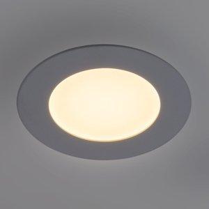 Heitronic LED panel Lyon okrúhly Ø 16,8cm stmievateľný