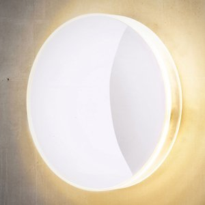 Heitronic Vonkajšie nástenné LED svietidlo Marbella, biele