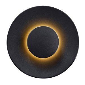 Heitronic Vonkajšie nástenné LED svietidlo Piastra, antracit