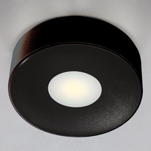 Heitronic Vonkajšie stropné LED svietidlo Girona, antracit