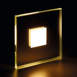 Heitronic Zapustené LED svietidlo Fortune, zrkadlové sklo