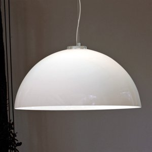 Vistosi Sklená závesná lampa DRESS