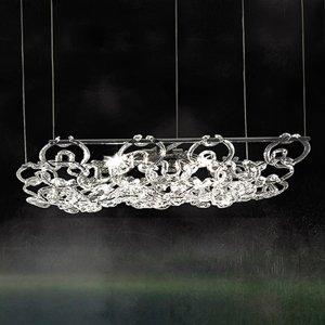 Vistosi Závesná lampa Giogali3D dĺžka 50 cm