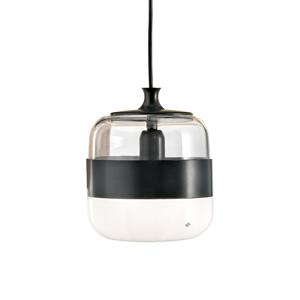 Vistosi Dizajnová závesná lampa Futura muranské sklo 20cm