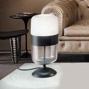 Vistosi Stolová lampa Futura muranské sklo, vysoká 48cm