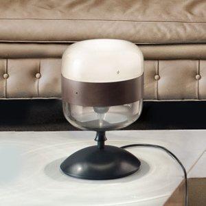 Vistosi Dizajnová stolová lampa Futura zo skla, 29cm