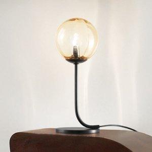 Vistosi Dizajnová stolová lampa Puppet z muranského skla