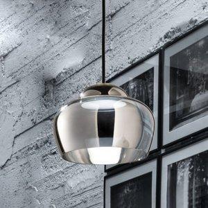 Vistosi LED závesné svietidlo Cristallina chróm