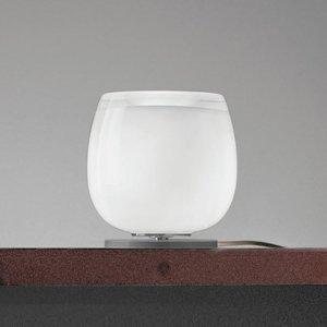 Vistosi Implode – sklenená stolná lampa Ø 16cm