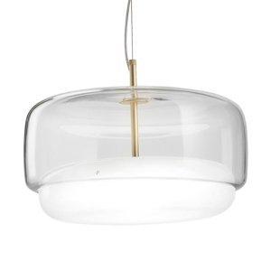 Vistosi LED závesné svietidlo Jube SP G, číre/biele