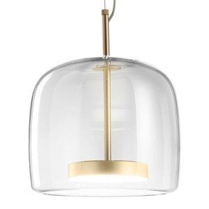 Vistosi Závesná lampa Jube SP 1 P zo skla, číra