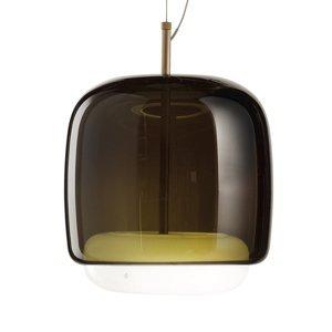 Vistosi Závesná lampa Jube SP P dvojité tienidlo zelená