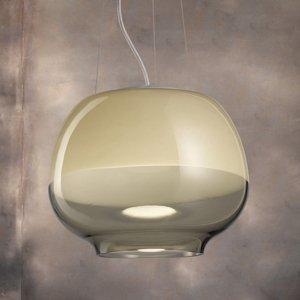 Vistosi Dizajnová závesná lampa Mirage SP, dym