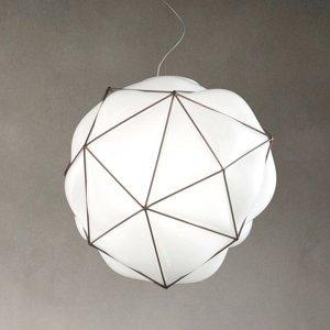 Vistosi Závesná lampa Semai E27 Ø 40cm