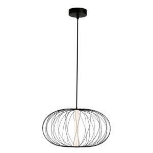 Viokef Závesné LED Elli s klietkovým tienidlom, čierne