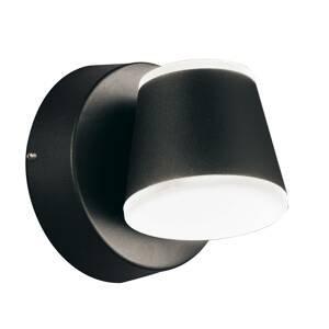Viokef Vonkajšie nástenné LED Atlas, výkyvné, okrúhle