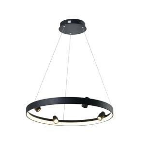 Viokef Závesné LED svietidlo Denis, kruhové so 4 svetlami