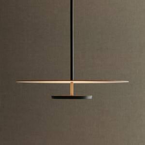 Vibia Vibia Flat závesné LED 1-pl. Ø 55cm terakota