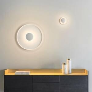 Vibia Vibia Top nástenné LED svietidlo Ø 60cm biela