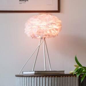 UMAGE UMAGE Eos mini stolná lampa ružová trojnožka biela