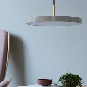 UMAGE UMAGE Asteria medium závesná lampa mosadz sivá