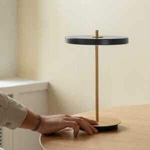 UMAGE UMAGE stolná LED lampa Asteria move antracit