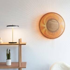 UMAGE UMAGE Clava up nástenné svetlo Ø35cm svetlé drevo