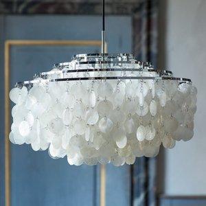 VERPAN VERPAN Fun 10DM – závesná lampa, chróm