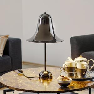 VERPAN VERPAN Pantop – stolná lampa, čierna lesklá
