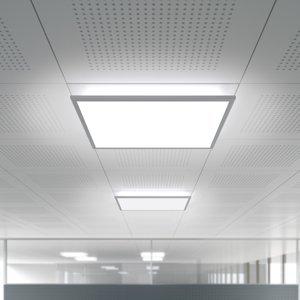 WALDMANN Zapustené LED DOTOO.fit 62,2cm 840 stmievateľné