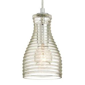 Westinghouse Westinghouse závesná lampa 6329240, vlnité sklo