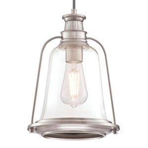 Westinghouse Westinghouse závesná lampa Brian v nikle