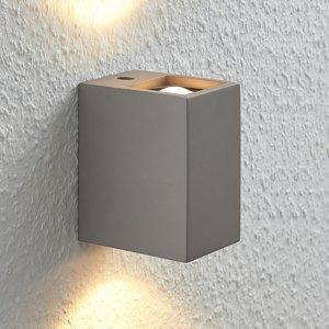 Lampenwelt.com Nástenné LED Cataleya Beton Up&Down 7x12 cm