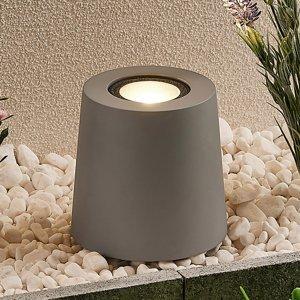 Lucande Lucande záhradná lampa Elvar, reflektor, betón