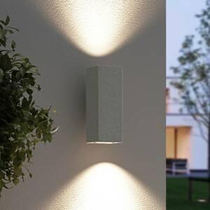 Arcchio Arcchio Leiylen vonkajšia nástenná LED, hranatá
