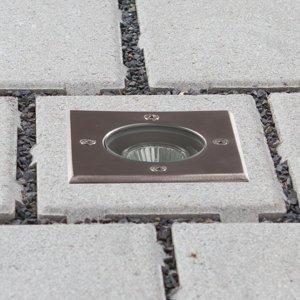 Lucande Zapustené podlahové svietidlo Ava IP67 GU10