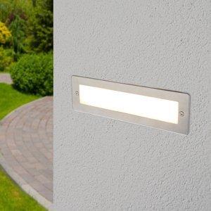 Lucande Zapustené nástenné LED svietidlo vonkajšie