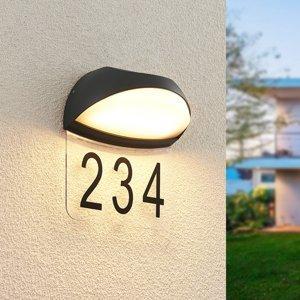 Lucande Lucande Loena LED osvetlenie čísla domu