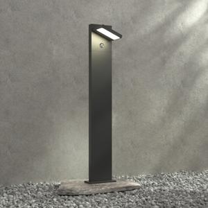 Lucande Stĺpikové LED svietidlo Silvan 100 cm snímač