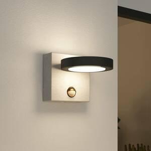 Lucande Lucande Belna vonkajšie nástenné LED betón snímač