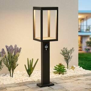 Lucande Lucande Qimka solárne chodníkové LED so snímačom